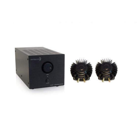 2 Aura Pro Bass Shakers With Dayton Audio APA150 Bundle