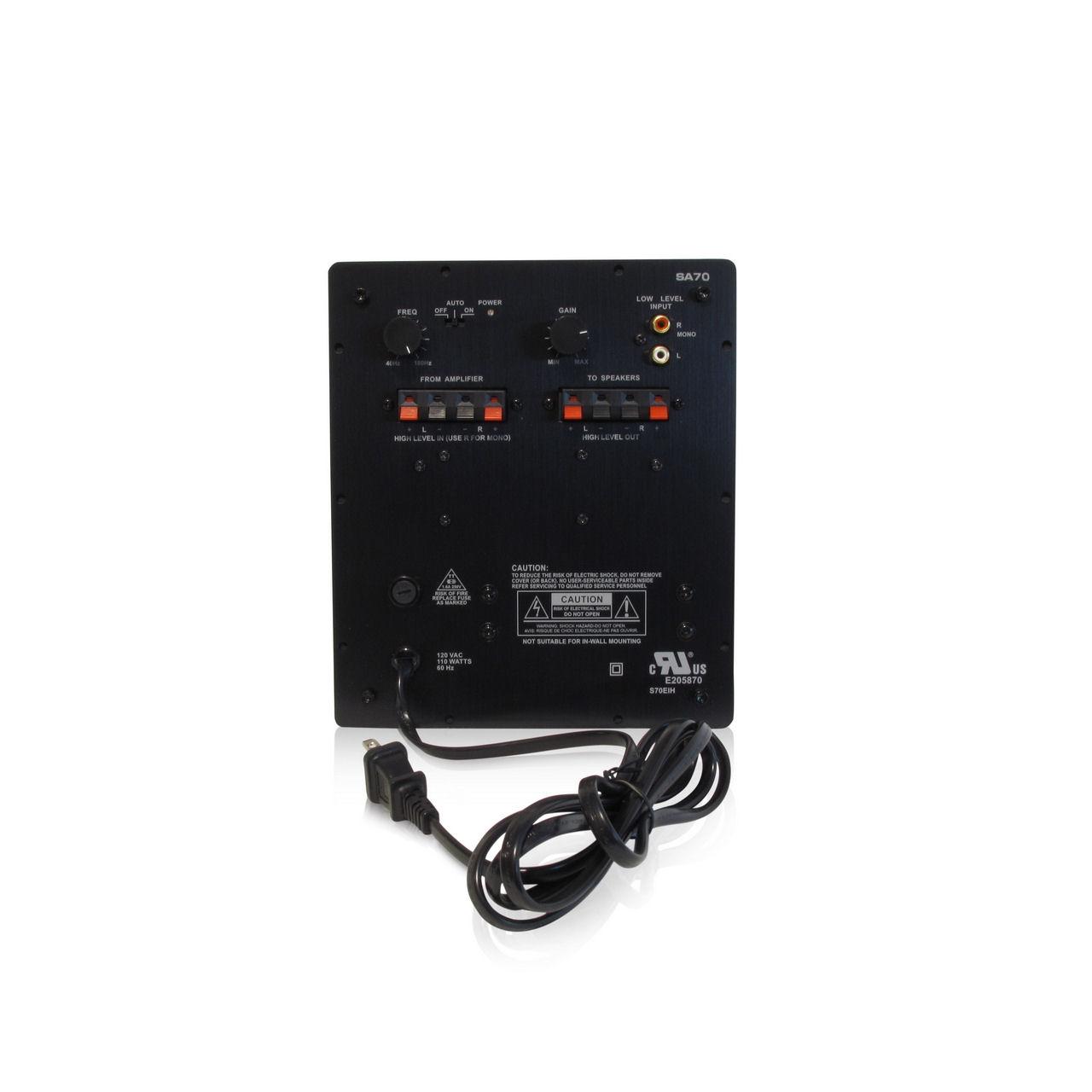 Dayton Audio Sa70 70w Subwoofer Plate Amplifier Smoke Tronics Laptop