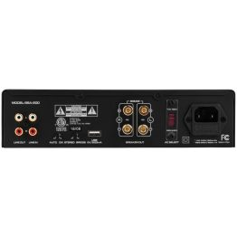 Dayton Audio BSA-200 backside of amplifier
