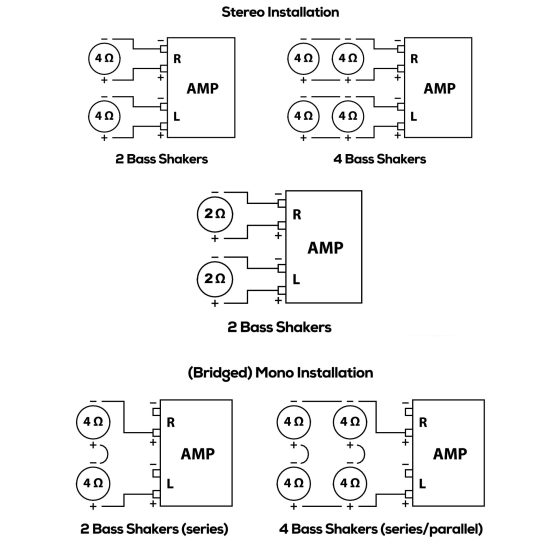 Dayton Audio BSA-200 wiring diagram